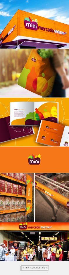 Minimercado Extra on Behance... - a grouped images picture - Pin Them All