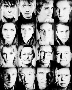 The Harry Potter Cast.
