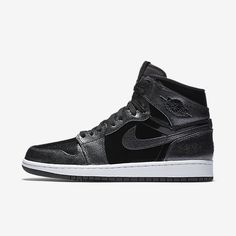 low priced 40c36 12543 Air Jordan I Retro High Men's Shoe, by Nike Size 15 (Black) - Clearance Sale
