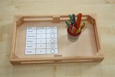 Shapes sides tray