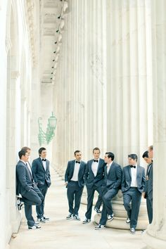 love the shoes for these stylish groomsmen. Photography By / http://brumleyandwells.com,Styling By / http://avintageaffairrentals.com