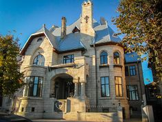 Casa Cănănău, azi Consulat Chinez (1913-1926), Constanța Houses, Mansions, Architecture, House Styles, Places, Home Decor, Mansion Houses, Arquitetura, Homemade Home Decor