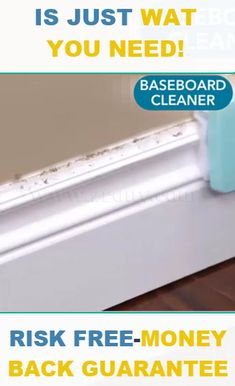 Do you dread cleaning your dusty and dirty baseboards? With the 360 Degree Baseboard Cleaner, House Cleaning Tips, Cleaning Hacks, Cleaning Products, Diy Hacks, Cleaning Supplies, Baseboard Cleaner, Caulk Baseboards, Cleaning Baseboards, Painting Baseboards