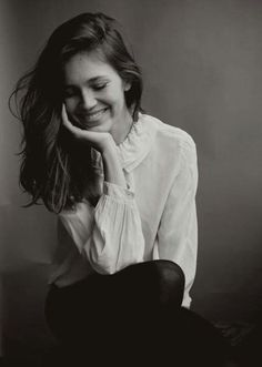 Love the way she smiles :) ;)