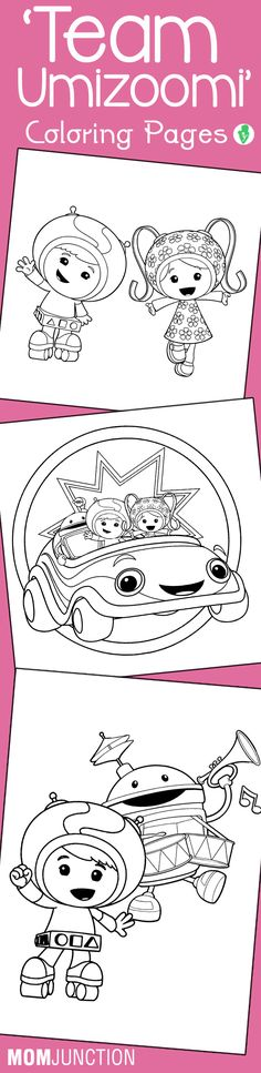 10 Best 'Team Umizoomi' Coloring Pages For Your Toddler Found on momjunction.com