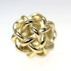 Another Custom 18K Gold Bead. Trollbeads Gallery - Starry Night Bead, Gold, $464.00 (https://www.trollbeadsgallery.com/starry-night-bead-gold/)