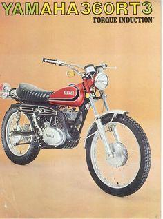 "habermannandsons: "" Bikes of the Week - 70's Two Stroke Enduros Yamaha RT/DT 360 """