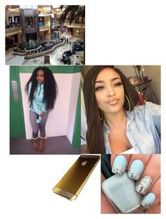 """""""highschool version*💗Ashley💗 at the mall wit squad"""" by gamergirl247 ❤ liked on Polyvore"""
