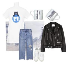 """""""When in Paris"""" by stacyigel on Polyvore featuring Graham & Brown, Boy Meets Girl, Yves Saint Laurent and Acne Studios"""