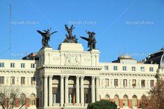 auf den Straßen von madrid - Stockdatei: 25009885