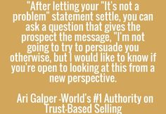 GPS Public Relations Trained  By Ari Galper -World's #1 Authority on Trust-Based Selling