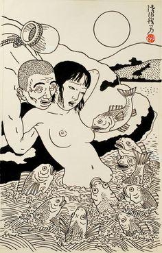 japanese nude painting - Google zoeken