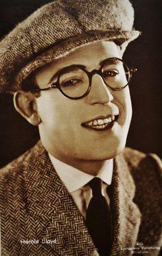 Harold Lloyd(1893-1971) - brilliant silent film actor!