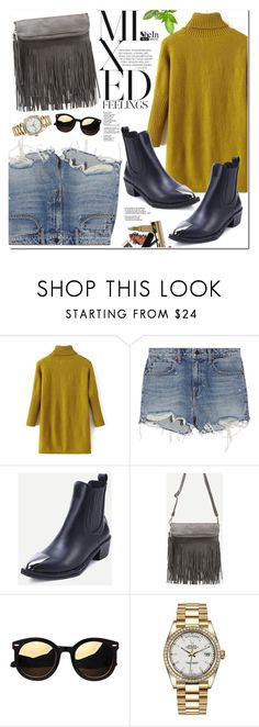 """""""Shein"""" by oshint ❤ liked on Polyvore featuring Alexander Wang and Rolex"""