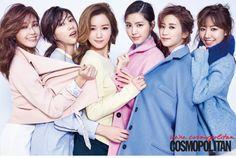 2015.02, Cosmopolitan, APink, Eunji, Hayoung, Bomi, Naeun, Chorong, Namjoo