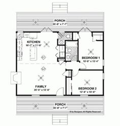 Each of the tiny homes below has a great floor plan that maximizes the given space while still making the house a home. Since people are individuals with individual needs, each home has its own unique twist, but still represents excellent options...