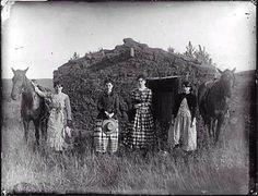 Homesteader Girls In Nebraska