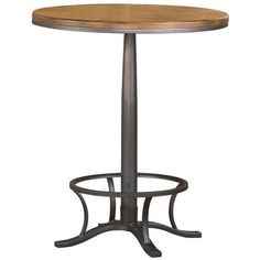 Vega Bar-Height Bistro Table (€435) ❤ liked on Polyvore featuring home, furniture, tables, dining tables, bar height dining table, bar height kitchen table, bar height table, home decorators collection and bar height bistro table