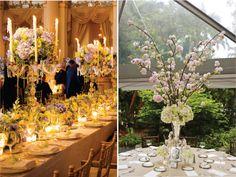 Ornate, formal wedding flower inspiration