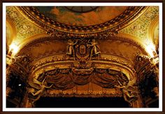 Opéra comique Décoration de la salle
