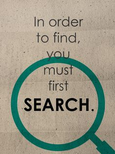 Jim Rohn has stated that in order to find, you must first search. Enjoy more #Motivational videos with #quotes from Famous People on Facebook @ linktrack.info/.6bju