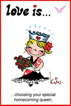 love is homecoming queen kim casali