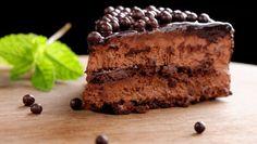 Čokoládový krém do torty Chocolate Deserts, Chocolate Fudge Cake, Flourless Chocolate, Sweets Recipes, Real Food Recipes, Baking Recipes, Cake Recipes, Diabetic Recipes, Pan Dulce