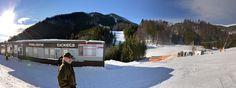 A začína lyžovačka - Tatry, Slovensko  And starts skiing - Tatry, Slovakia