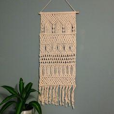 Arches macrame wall hanging sampler husband gift boho decor