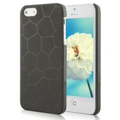 Water Cube Design Crystal Hard Case For iPhone 5 - Black