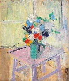 Музей живописи - Alexandru Ciucurencu (Чукуренку) (1903-1977гг). Frasier Crane, Post Impressionism, Art World, Painting & Drawing, Still Life, Beautiful Flowers, Watercolor, Drawings, Bouquets