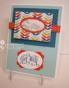 Get Well Card  Flowerbug's Inkspot Blog