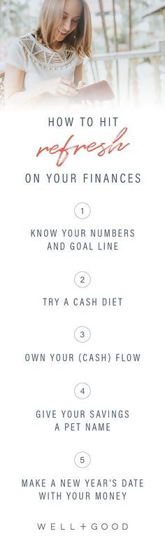How to hit refresh on your finances