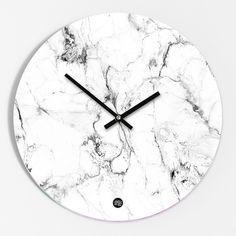 """Uhren - Wanduhr """"Marmor"""" - ein Designerstück von Amy-and-Kurt bei DaWanda"""