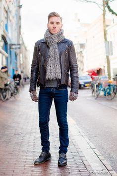 Ahiran in Amsterdam - [ Street Style ] #fashion #streetfashion #streetstyle #menswear  See original post on www.urbanvisualist.com