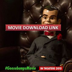 Goosebumps Full Movie Download Free Online HD, 720P, 1080P, Bluray RIP, DVD, DivX, iPod Formats 2015. Nerdist shared 10 pictures from Goosebumps, but chief among them is the little man on top. Slappy may seem harmless enough - but a ramshackle old ventriloquist puppet. But this doll has an insatiable thirst for chaos. It appeared in the fun horror novels for children RL Stine, Nightlife simulated 1-3 Bride of the Living Dummy, Nightmare for Slappy, Revenge of the Living Dummy.
