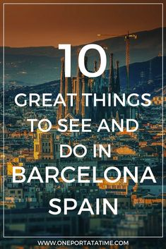 Cruising from Barcelona and looking for things to do before/after your cruise? Check out ten attractions in the area to suit all tastes and make your vacation last beyond your cruise. #cruise #barcelona #spain #thingstodoinbarcelona