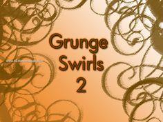 Grunge Swirl 2 - Download  Photoshop brush http://www.123freebrushes.com/grunge-swirl-2/ , Published in #GrungeSplatter. More Free Grunge & Splatter Brushes, http://www.123freebrushes.com/free-brushes/grunge-splatter/ | #123freebrushes