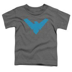 Toddler Batman/Nightwing Symbol Short Sleeve