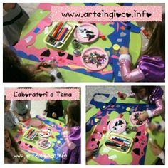 Laboratori creativi x Feste di Compleanno www.arteingioco.info