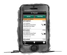 MobileCast - MobileCast On Track is a mobile phone based solution designed to assist an enterprise in tracking mobile field based resources whilst providing metrics for management. Gps Tracking, Management, Delivery, Phone, Telephone, Mobile Phones