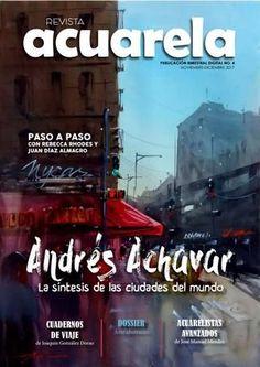 "Cover of ""Revista Acuarela No. 4, extracto"""