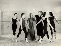 Photograph from Helen Keller's life-changing visit to Martha Graham's dance studio| Brain Pickings