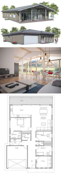 Home Plan, Single story