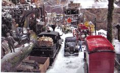 Christmas Village Ideas | Congratulations Clive and thanks for sharing your village.