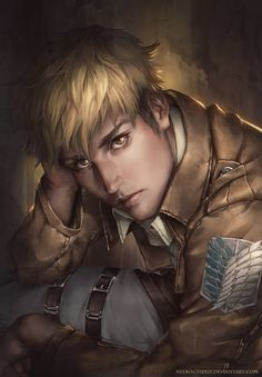 Why the crap are you so hot Jean!?!? Attack on Titan ~~ [ Jean Kirschtein by neeroctibris.deviantart.com on @deviantART ]