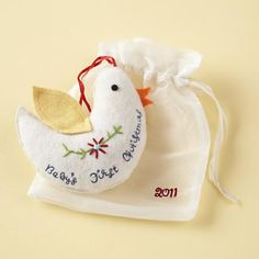 I'd love to make something like this for Rosa to celebrate her first Christmas..