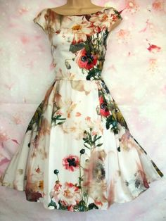 BNWT New NEXT White Pink Floral Lace Bodycon Midi Dress 12 16 Regular Petite £55