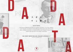 Dada-Data is a digital documentary consisting of interactive exercises, six DADA Hacktions, and a web anti-museum, the DADA-Dépôt. Dada-Data was launched on the day of the anniversary of the DADA movement. Design Web, Vintage Web Design, Web Design Trends, Media Design, One Design, Graphic Design, Grid Website, Dada Movement, Webdesign Inspiration