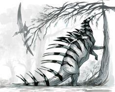 Kentrosaurus // tiffanyturrill.deviantart.com on @DeviantArt